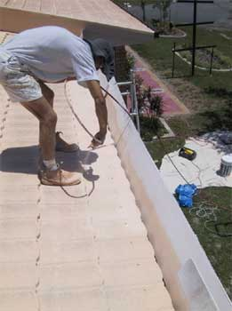Grant Painters Roof Repaint Service